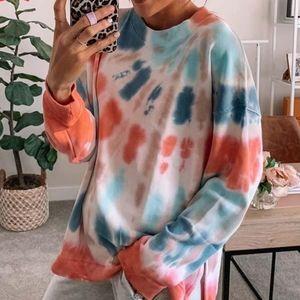Tye dye Crew neck sweater